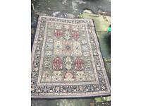 Large Carpet / Rug Vintage Retro Style