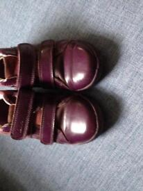 Clarks girls boots size 9F