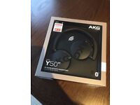 AKG WIRELESS BLUETOOTH HEADPHONES BNIB will swap for mobile phone