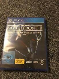 Battlefront 2 elite trooper deluxe edition for PS4