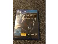 Battlefront 2 elite trooper deluxe edition for PS4