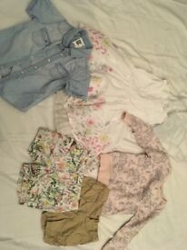 Bundle of girls clothes ages 4-5