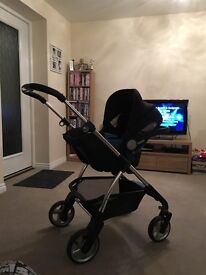 Silver cross wayfarer full travel system (black) £400 ONO. Reasonable offers considered