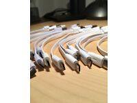 USB to microUSB cables and Samsung accessories