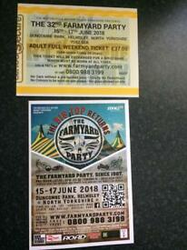 FarmYard Party (Helmsley) ticket