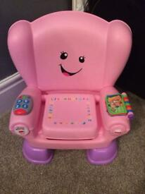Fisher price laugh and learn chair smart chair