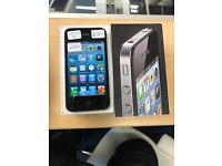 iPhone 4 black Vodafone iOS 6 boxed