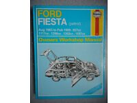 HAYNES FORD FIESTA 1983-89 SERVICE AND REPAIR MANUAL.