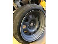 Banded steel wheels 14 inch 4x100