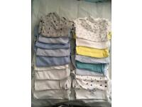 Baby boys vests 12-18 months