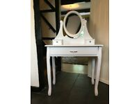 NEW Large White Chic Dressing Table - French Dressing Table