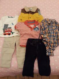 12-18 month boys bundle, GAP, M&S