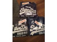 Superdry/adidas hoodies