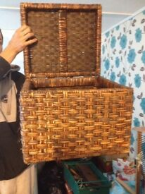 Lovely little wicker box