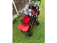 Twin Double Stroller Pushchair(Cosatto)