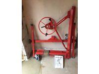 Drywall And Panel Hoist