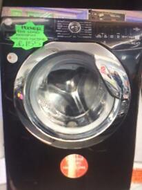 Black hoover 9kg load washing machine