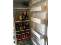 Scandinova large fridge with display temperature