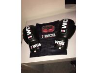 Boxing Gloves & Hand Wraps (Unused/Not Opened)