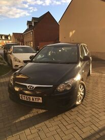 HYUNDAI I30, low mileage, 7 service stamps! 60+ MPG, £30 road tax.