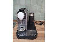 Nespresso Citiz by Krups with built-in Aeroccino 3 - For Sale £60 - Collection Only