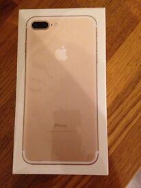Iphone7 plus. Gold 32GB