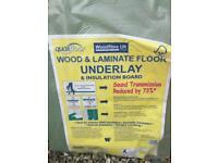Wood floor underlay / soundboard