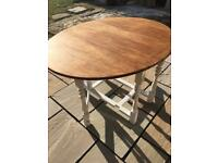 Wooden Oak Oval Gateleg Table