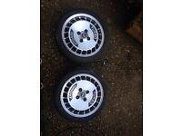 Ronal Turbo 15inch alloy wheels