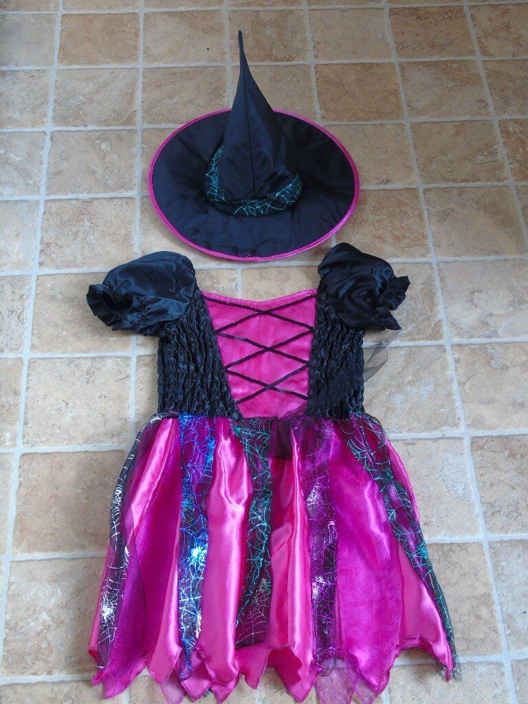 Halloween Witches outfit age 9-10 years