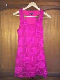 Boutique pink dress occasion / wedding size 8