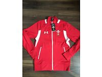 Brand new Wales Welsh rugby under armour jacket