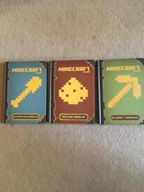 Minecraft books.