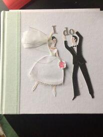Wedding photo album, brand new