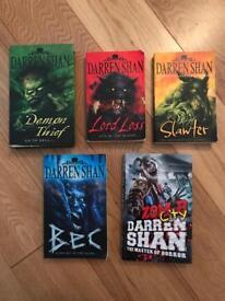 Darren Shan Books