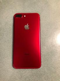 Limited edition 128GB (PRODUCT) RED IPhone plus with Apple warranty