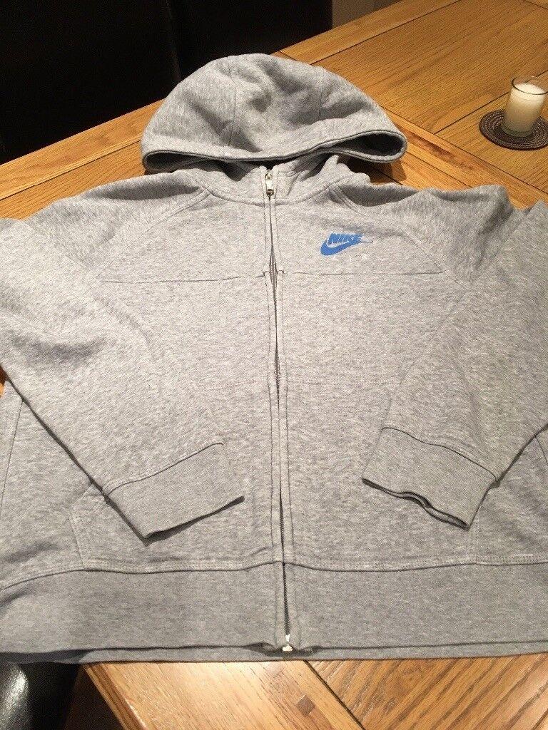 Nike Kids Grey Hoodie Age 13-15 Years