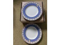 Wedgewood Rare Sarah's Garden Side Plates.