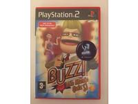 PlayStation 2 Buzz The Music Game