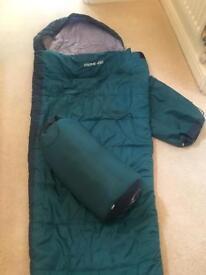 Two Matching Sleeping Bags - All Seasons