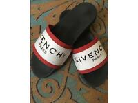 Givenchy sliders / slides / slippers / flip flops size 9 good condition