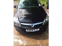 59 Plate Black Vauxhall Astra 1.6 SXI (brand new clutch)