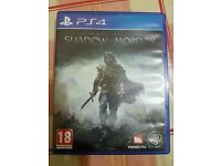 Two PS4 Games - Shadow of Mordor & Batman Arkham Knight