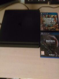 PS4 NEARLY NEW