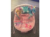 MOTHERCARE FAIRGROUND BABY BOUNCY CHAIR!!