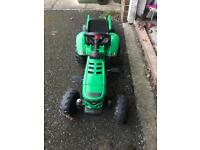 Ride along tractor