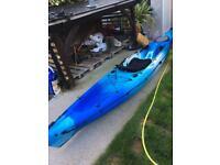 Triumph 13 blue kayak