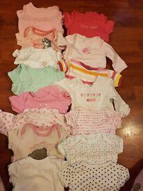 Massive bundle of 0-3months girls clothes
