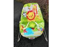 Brand new Fisher price vibrating baby seat