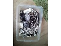 Job Lot - Leads/Adapters/Phone/Timers etc